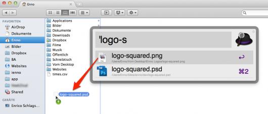 Datei schnell von A nach B kopieren