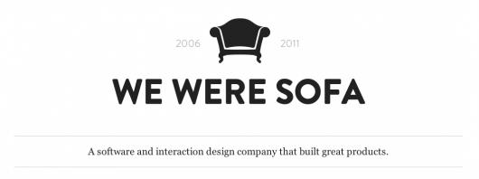 We Were Sofa – Entwicklung eingestellt