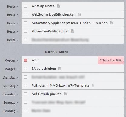 Geplante Aufgaben (Mac)