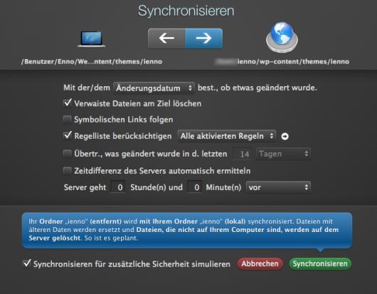 Sync-Screen