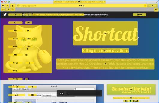 Shortcat mit Chrome