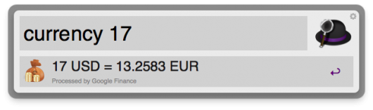 Was waren noch mal 17$ in €?