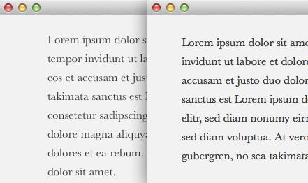 Schriftvergleich, links alt, rechts neu (Danke Lukas!)