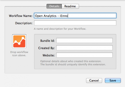 Workflow-Metadaten eingeben