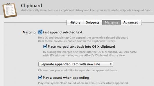 Clipboard Merging