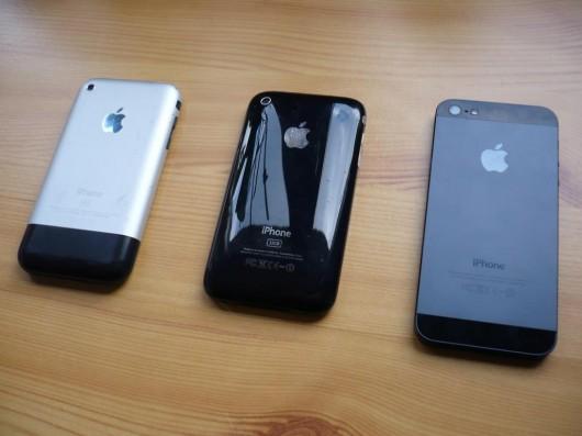iPhone 2G, 3GS und 5